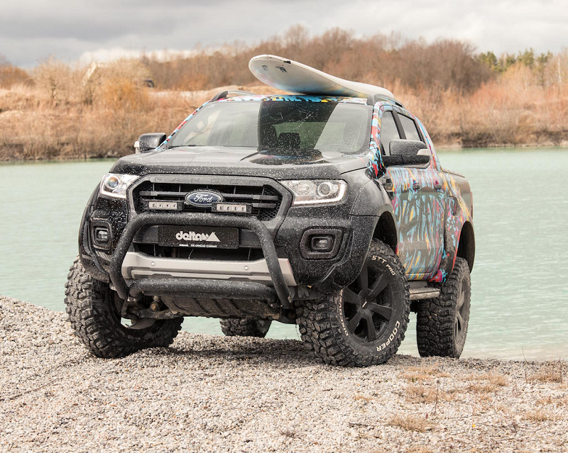 Bild: delta4x4s Ford Ranger - Big, Beefy and Beautiful!