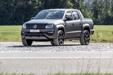 Bild: JMS - Barracuda Ultralight Project X am Wolfsburger Pick-up VW Amarok