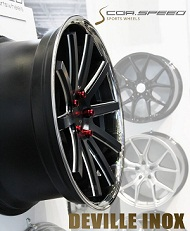Corspeed Sports Wheels NEWS Deville Inox concave